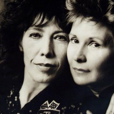 Lily Tomlin and Jane Wagner. © 2015 Lily Tomlin. All Rights Reserved.