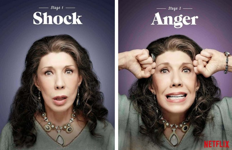 Grace and Frankie. Featuring Lily Tomlin.