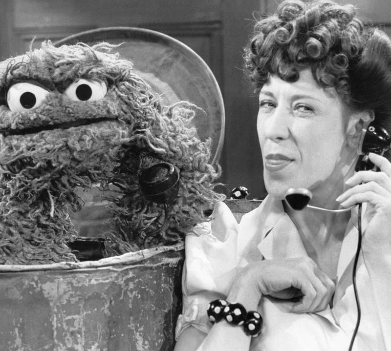 "Ernestine the ""Phone Operator"" on ""Sesame Street""."